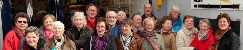 team van vrijwilligers van de wereldwinkel